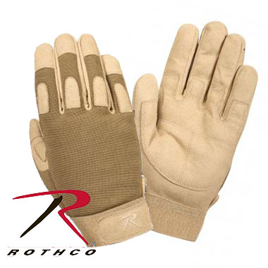 LIGHTWEIGHT ALL PURPOSE DUTY GLOVES COYOTE