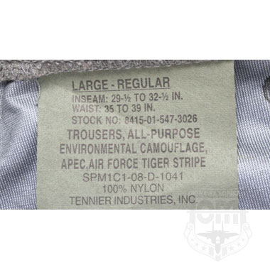 TROUSERS ALL-PURPOSE AIR FORCE PANTS 米軍放出品