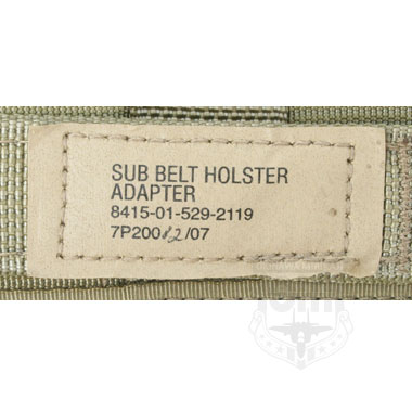 SUB BELT HOLSTER ADAPTER 米軍払い下げ品