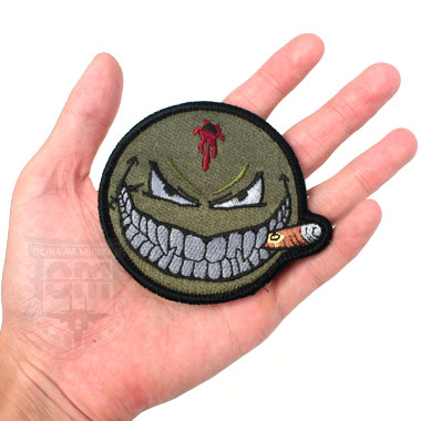 SMILING FACE PATCH スマイルワッペン