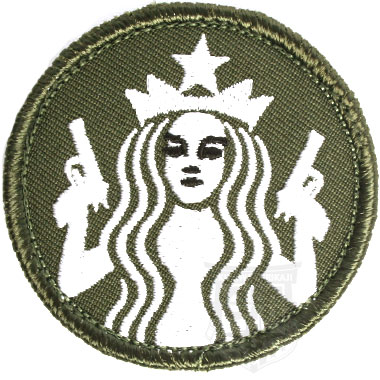 GUNS AND COFFEE MINI PATCH
