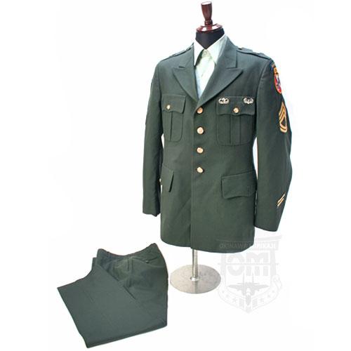 US ARMY グリーンドレス セット...
