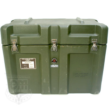 MILITARY CONTAINER CASE 米軍払...