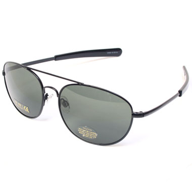 ROTHCO GI TYPE AVIATOR SUNGLASS BLACK/SMOKE