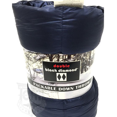 DOUBLE BLACK DIAMOND PACKABLE DOWN THROW