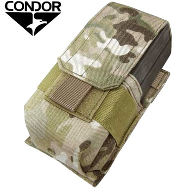 CONDOR SINGLE M14 MAG POUCH MULTICAM