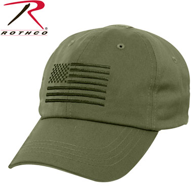 OPERATOR TACTICAL CAP US FLAG OD タクティカルキャップ