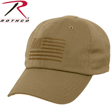 OPERATOR TACTICAL CAP US FLAG COYOTE タクティカルキャップ