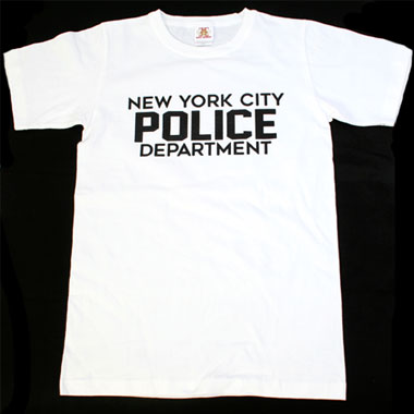 NEW YORK CITY POLICE DEPARTMENT プリントTシャツ
