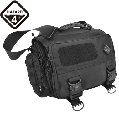SHERMAN MESSENGER BAG BLACK