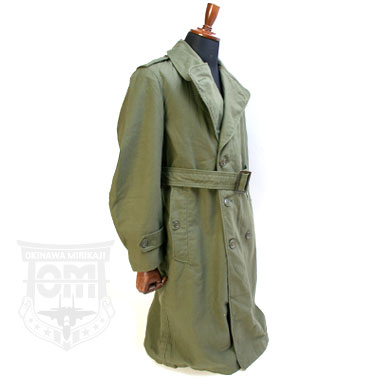 OVERCOAT MENS COTTON SATTEN OG-107 ミリタリーコート
