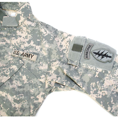 AIR BORNE COMBAT ARMY UNIFORM ACU 上下セット 特殊部隊