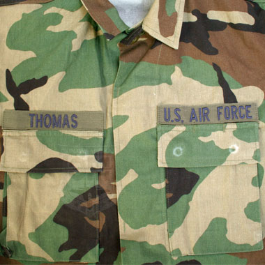 USAF COAT WOODLAND CAMOUFLAGE PATTEN COMBAT 迷彩