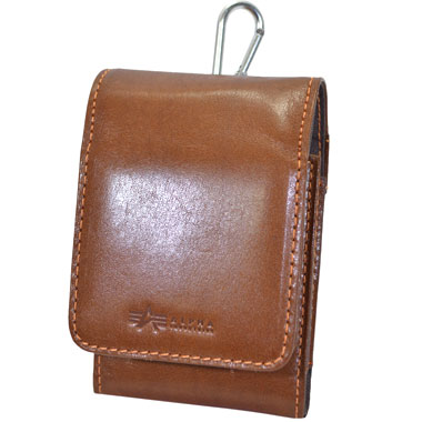 ALPHA IPHONE IQOS POUCH BROWN