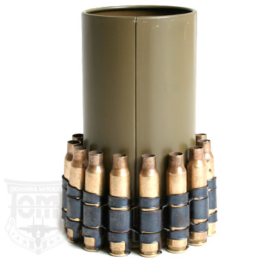 US ARMY 5.56mm空薬莢付ペン立て