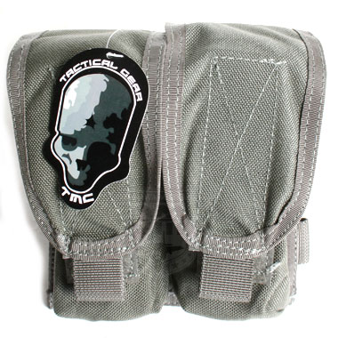 TMC DOUBLE FLASH BANG POUCH グレー