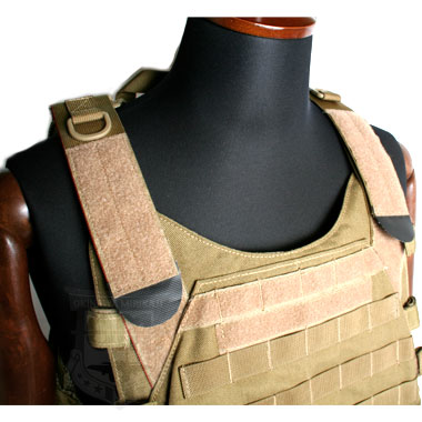 SHOOTER PLATE CARRIER VEST TAN