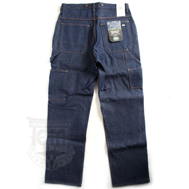 KEY DOUBLE FRONT DENIM LOGGER DUNGAREE