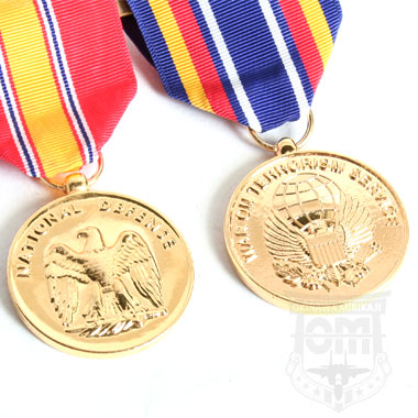 US SERVICE MEDAL SET