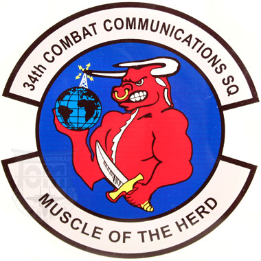34TH COMBAT COMMUNICATIONS SQUADRON