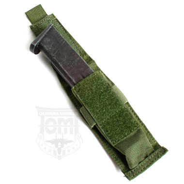 TMC SINGLE PISTOL MAG VERTICAL POUCH OD