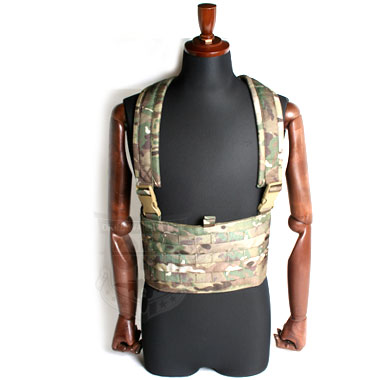 TMC MOLLE BASE CHEST RIG マルチカモ