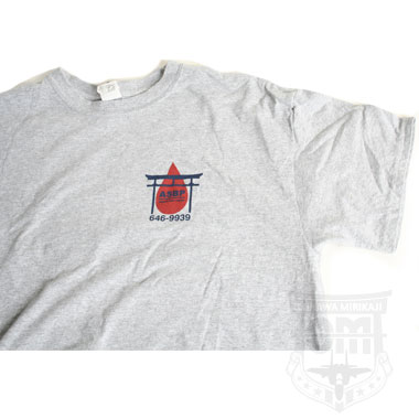 BLOOD DONOR CHALLENGE プリントTシャツ