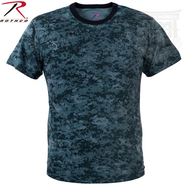 MIDNIGHT BLUE DIGITAL CAMO T-SHIRT 迷彩Tシャツ