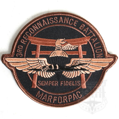 3RD RECONNAISSANCE BATTALION MARFORPAC ワッペン