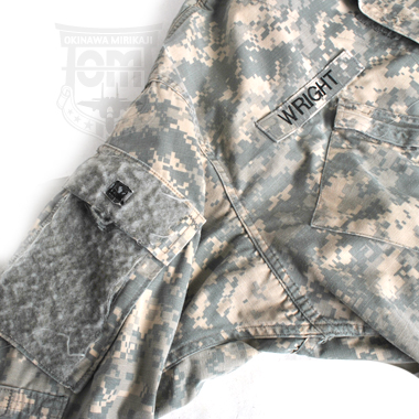 COAT ARMY COMBAT UNIFORM 三等軍曹 WRIGHT