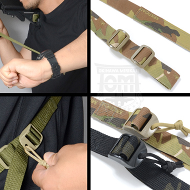TACTICAL 2 POINT SLING マルチカモ