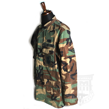 COAT HOT HEATHER WOODLAND PATTERN COMBAT SECURITY FORCE