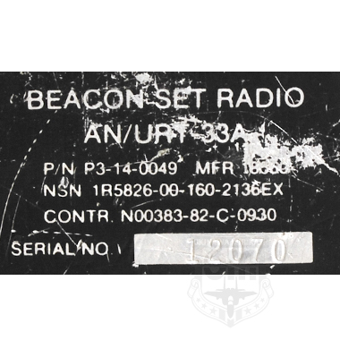 【一品堂】BEACON SET RADIO AN/URT-33A