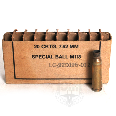 20CRTG 7.62MM SPECIAL BALL MALL M118