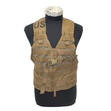 USMC COYOTE BROWN MOLLE VEST FLC