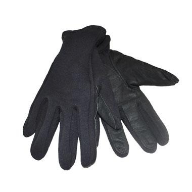 See Pictures! USMC Black Unisex Dress Marine Corps Gloves Size Medium