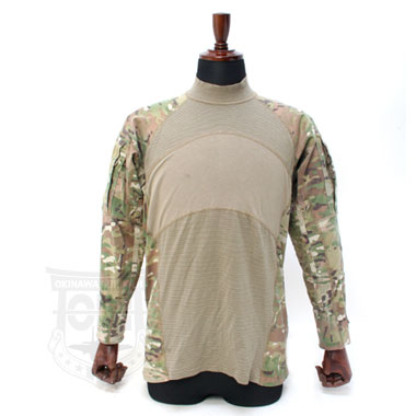 US ARMY COMBAT SHIRT FLAME RESISTANT (MULTICAM) 米軍放出品