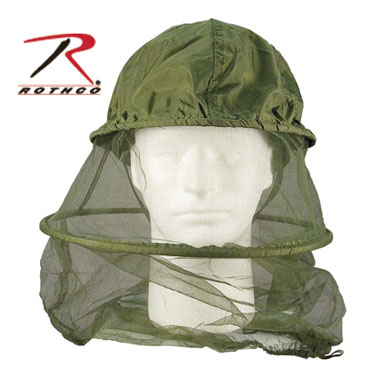 ROTHCO OD MOSQUITO HEAD NET モスキートネット