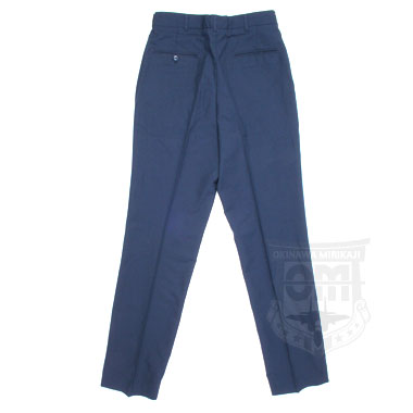 TROUSERS MENS SERVICE POLY/WOOL SERGE AF BLUE 1620 米軍放出品