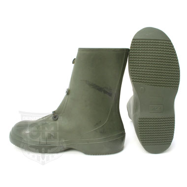 CHEMICAL OVER RUBBER BOOTS OD 米軍放出品