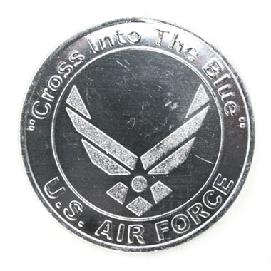Cross Into The Blue USAF Coin 米軍払い下げ品